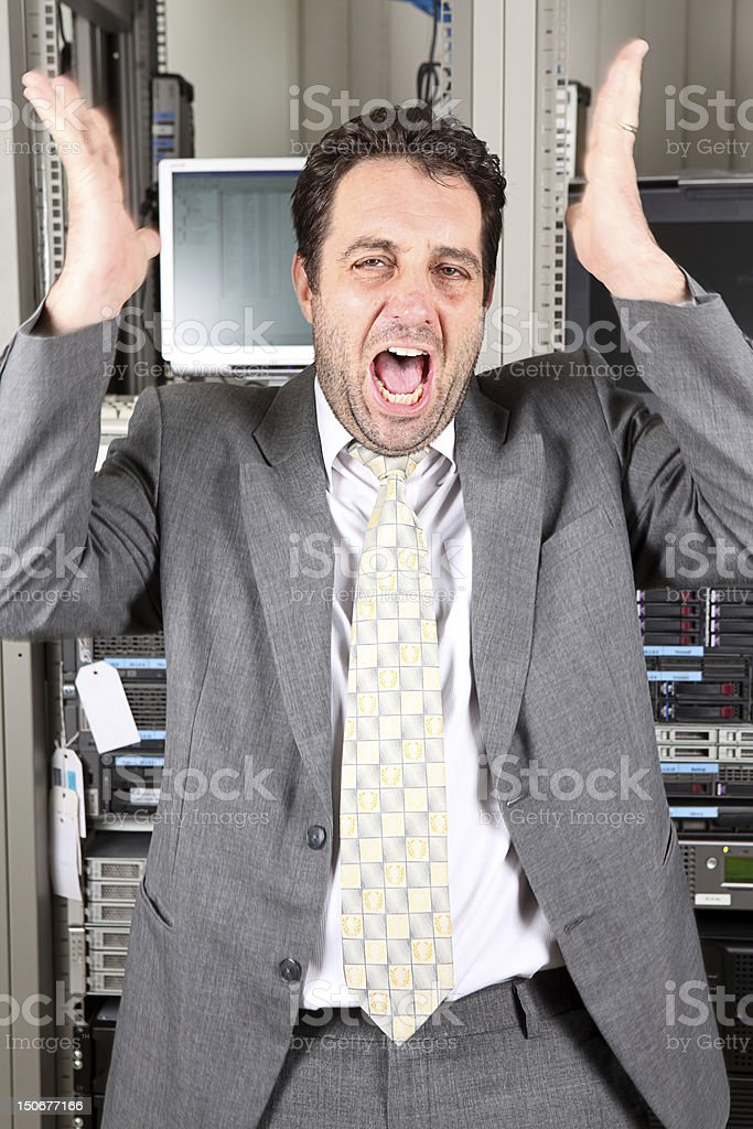 Worried royalty-free stock photo