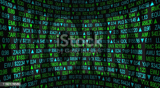 Worry Concern Fear Stock Market Investment Risk 3d Illustration