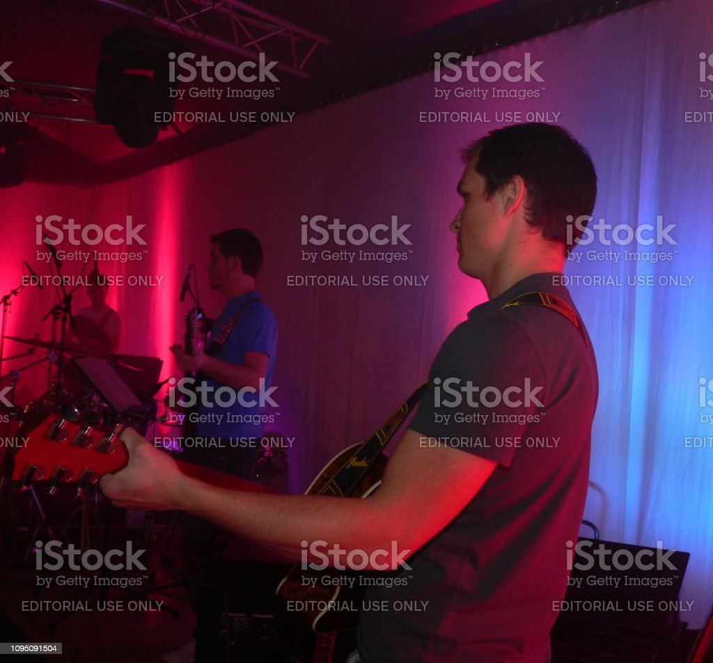 Brunssum, the Netherlands, - March 22, 2008. Performance of a worship...