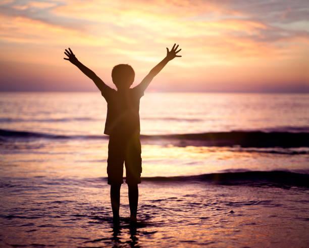 Anbetung und Lobpreis am Meer – Foto