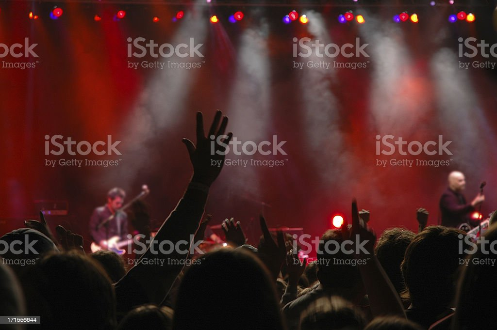 Worship Concert royalty-free stock photo