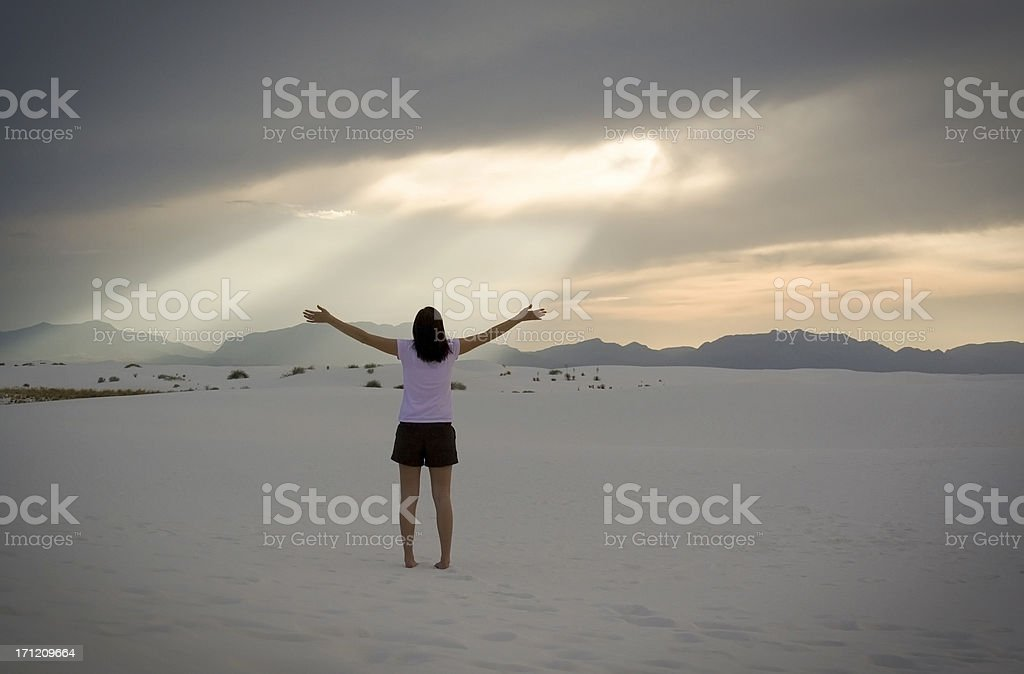 Worship royalty-free stock photo