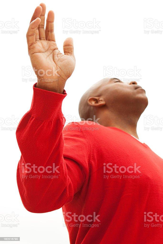 Worship royalty-free stock photo