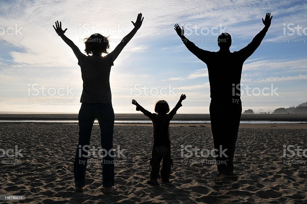 Worship Together royalty-free stock photo