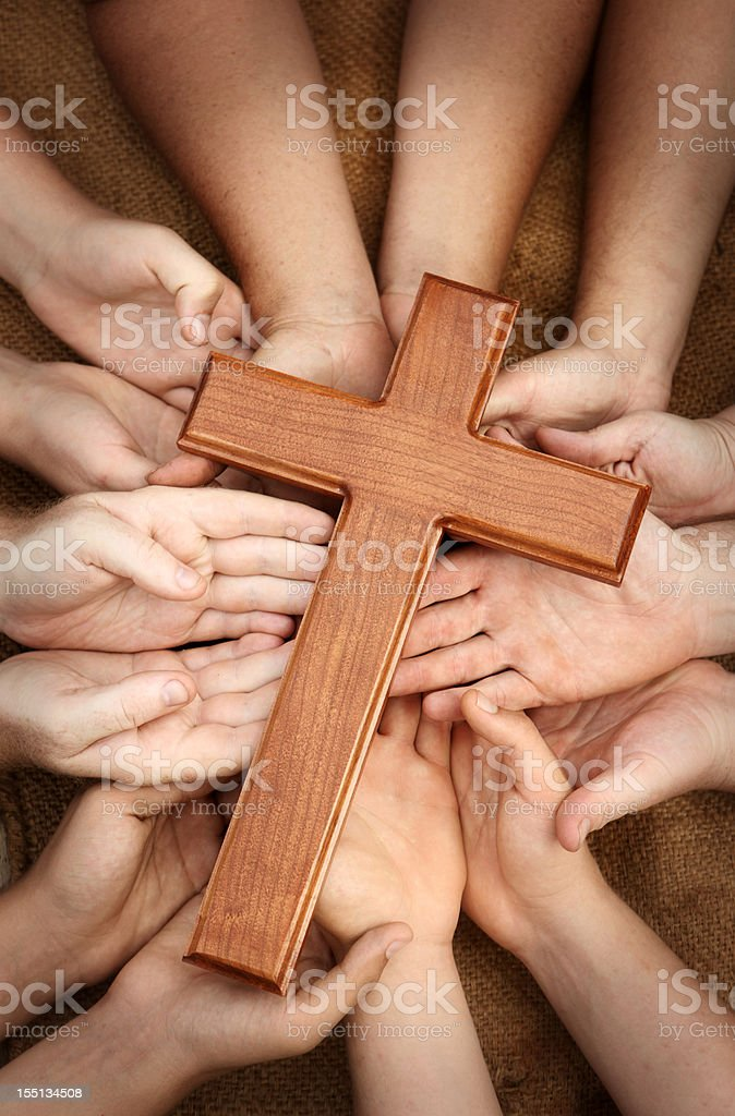 Worshiping Together - Royalty-free A Helping Hand Stock Photo