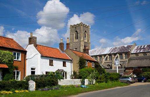 Worstead village and church, Norfolk