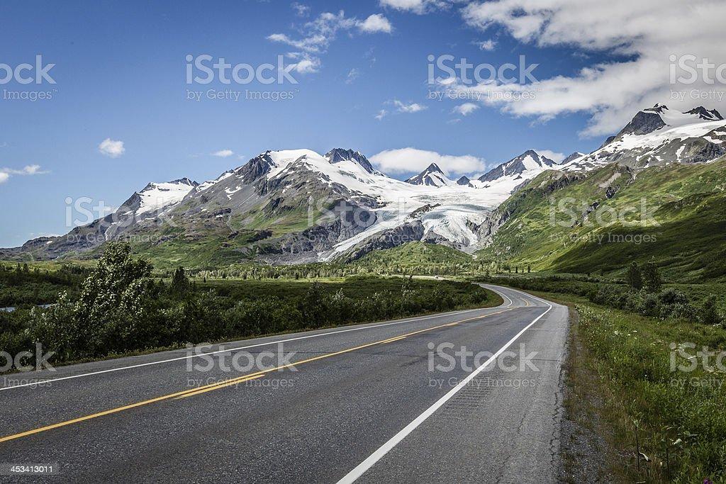 Worthington-Gletscher stock photo