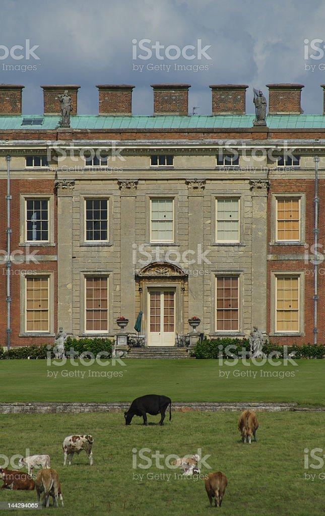 Wotton House royalty-free stock photo