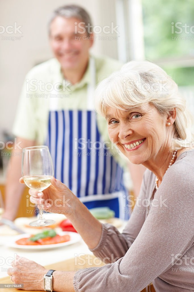 Would you like a glass of wine? royalty-free stock photo