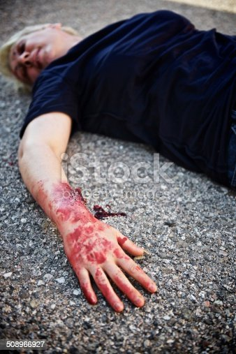 508966965 istock photo Wounded woman 508966927