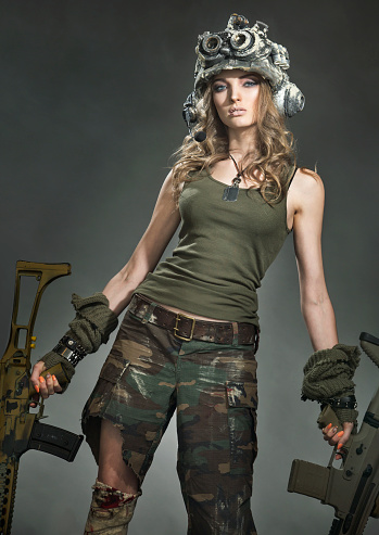 Wounded woman warrior