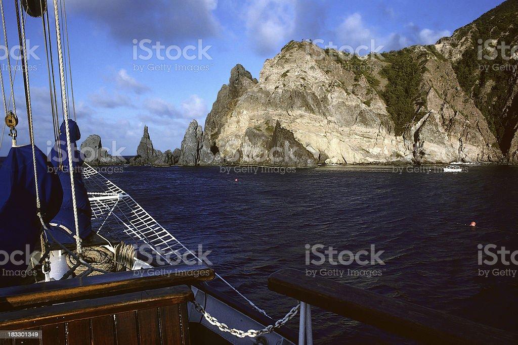 Wounderful Bay stock photo