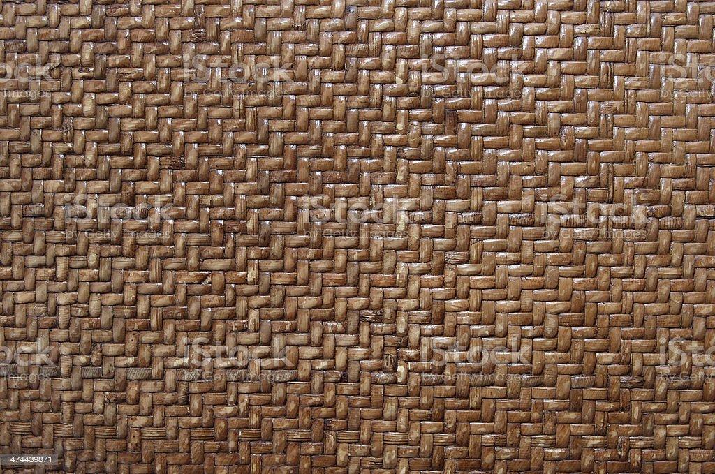 Woven bamboo background stock photo