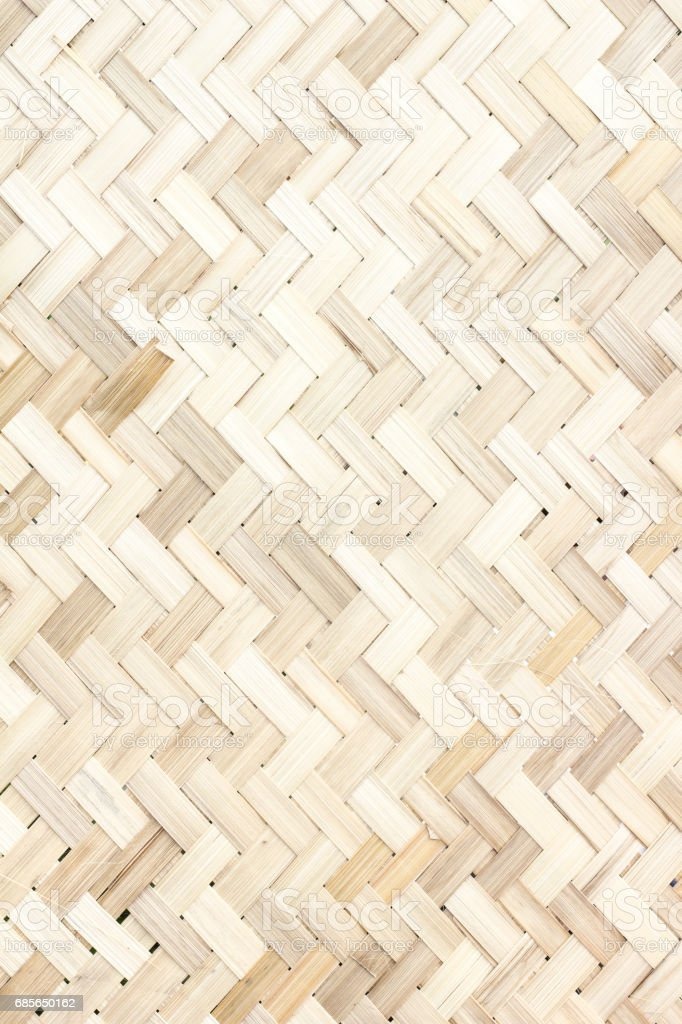 woven bamboo texture and background 免版稅 stock photo