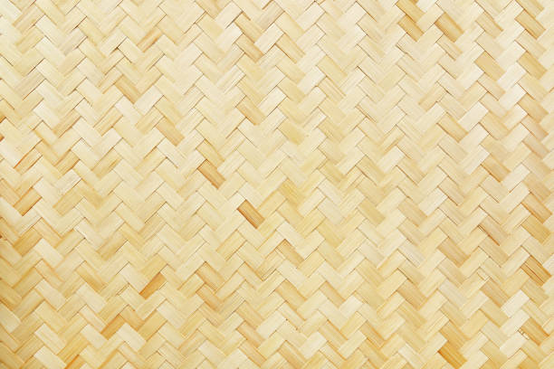 woven bamboo texture for background and design it is woven bamboo texture for background and design. wicker stock pictures, royalty-free photos & images