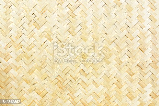 istock woven bamboo texture for pattern and background 844312852
