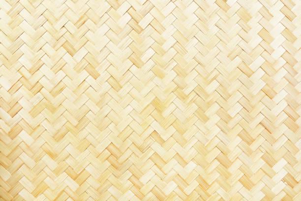 vävd bambu textur för mönster och bakgrund - halmslöjd bildbanksfoton och bilder