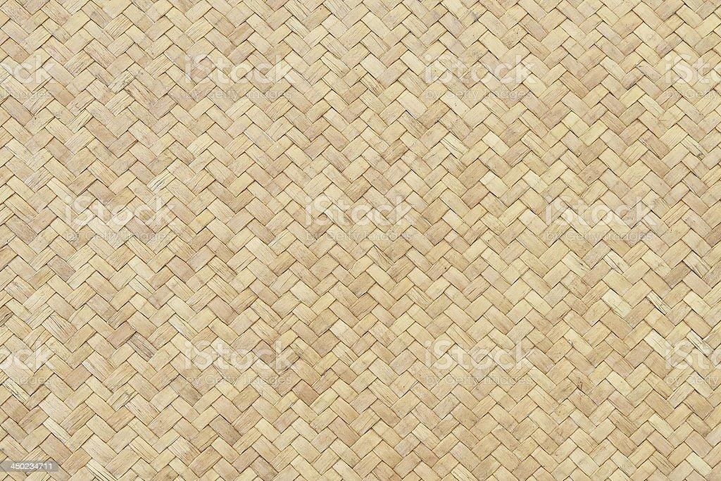 Woven Bamboo texture stock photo
