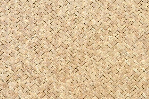 Woven Bamboo texture background wicker stock pictures, royalty-free photos & images