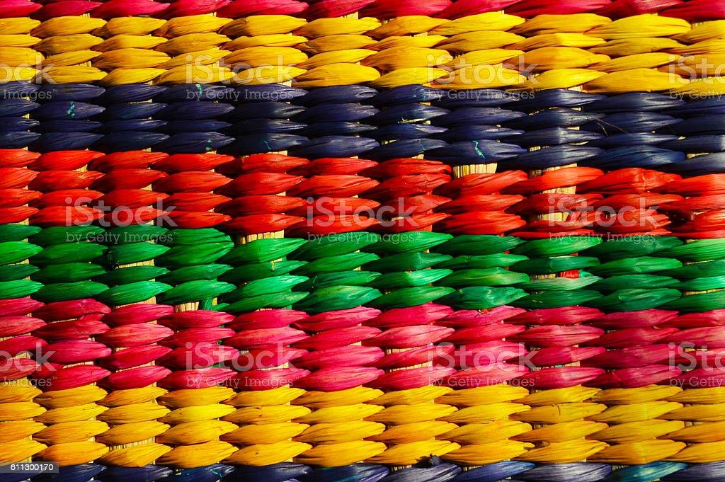 Woven basket texture royalty-free stock photo
