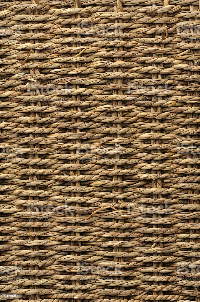 Woven basket texture royalty-free stock photo