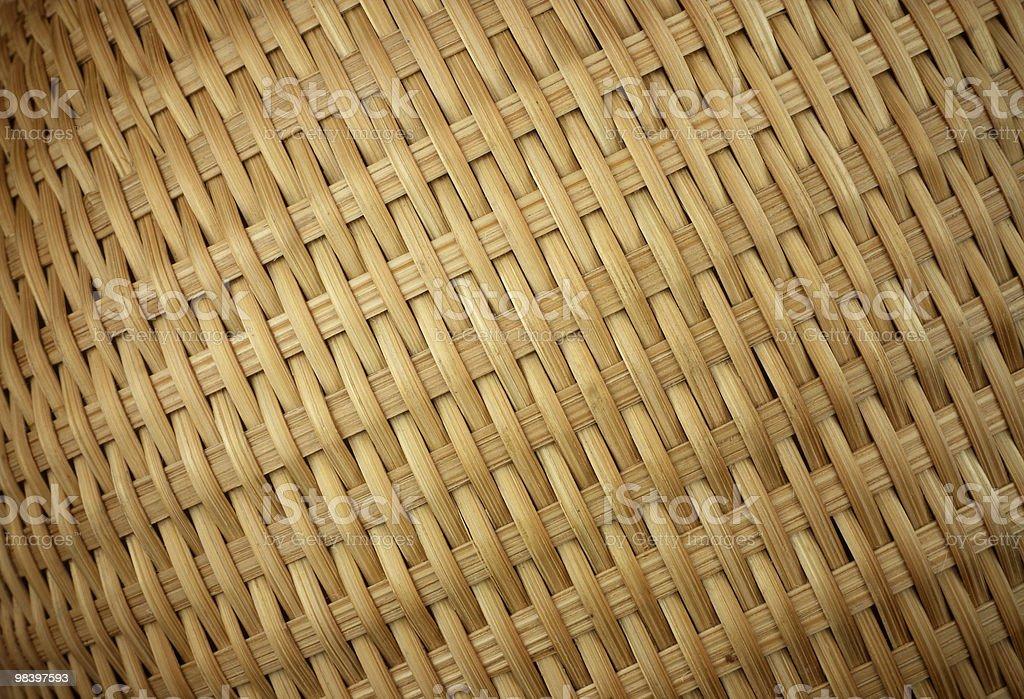 Woven Basket texture (diagonal orient) royalty-free stock photo