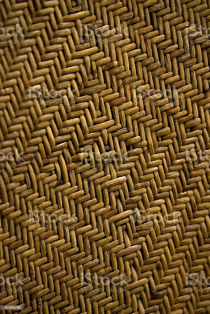 Woven cane texture royalty-free stock photo