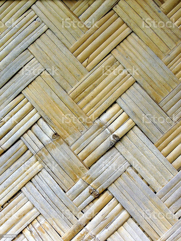 Woven canes royalty-free stock photo