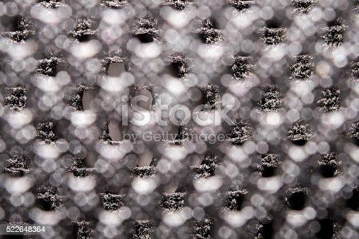 istock Woven carbon fiber sheet. Texture. Macro. 522648364