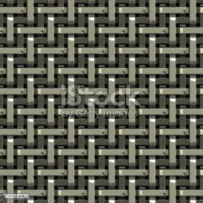 165581167istockphoto Woven Metal Texture 96958336