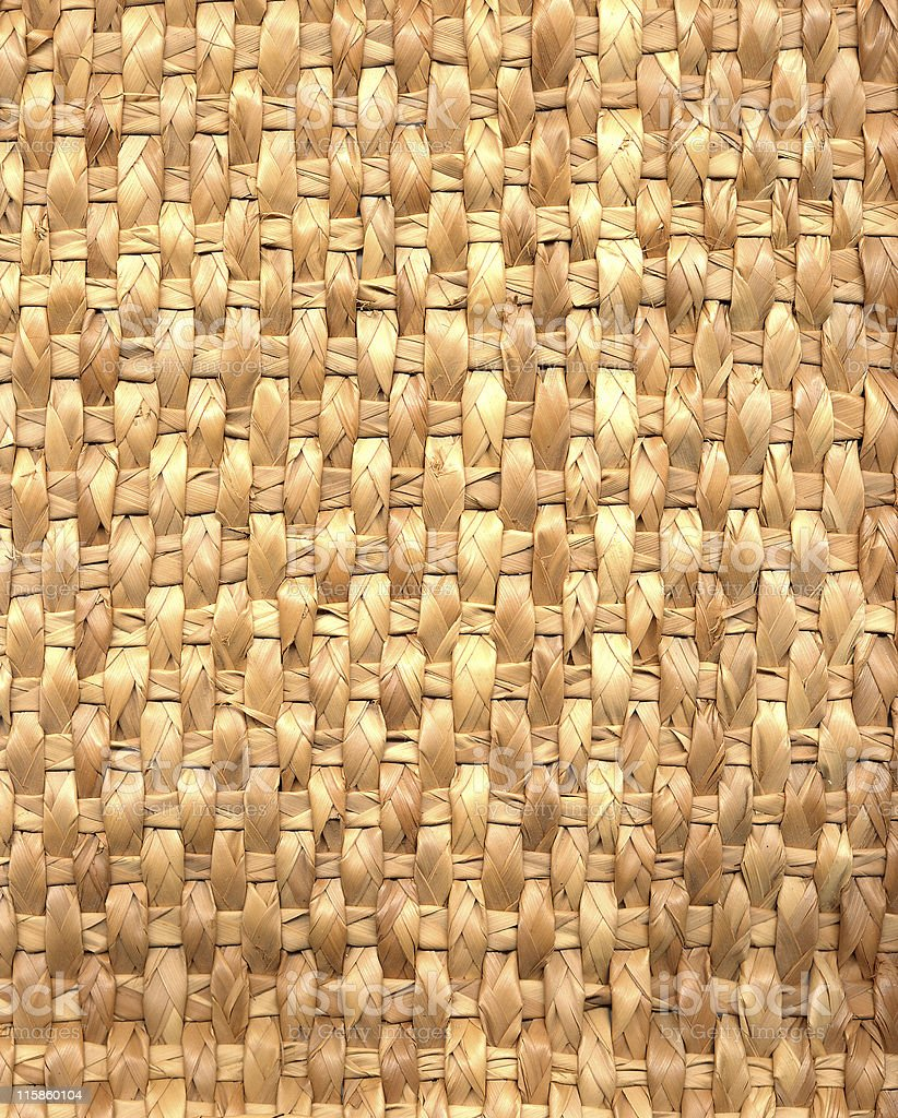 woven palm leaves royalty-free stock photo