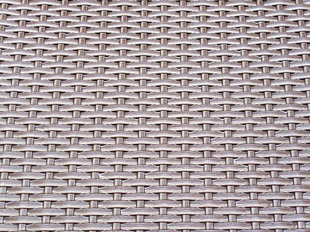 Woven pattern drenched from the rain stok fotoğrafı