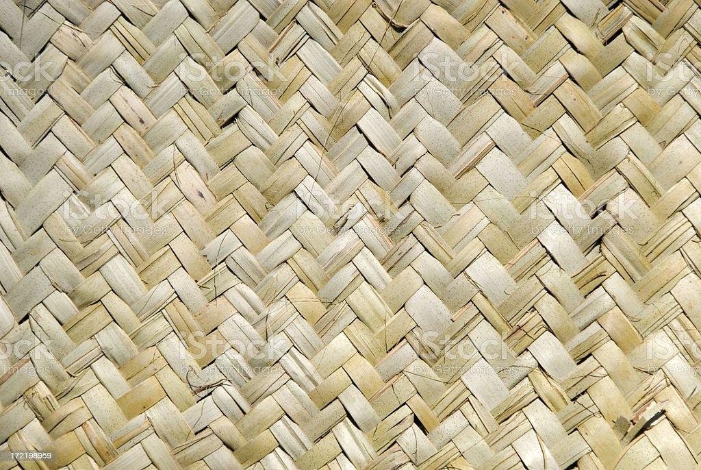 Woven pattern stock photo