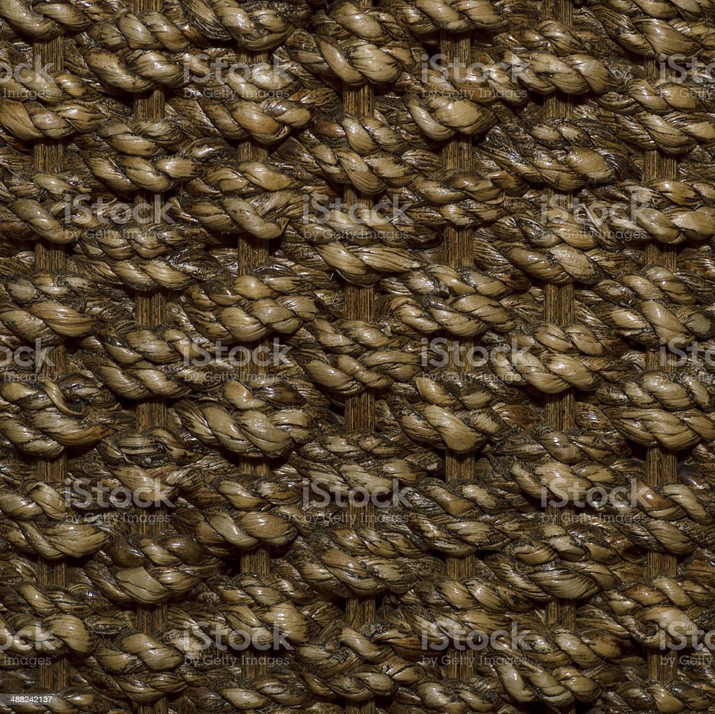 woven rattan with natural patterns royalty-free stock photo