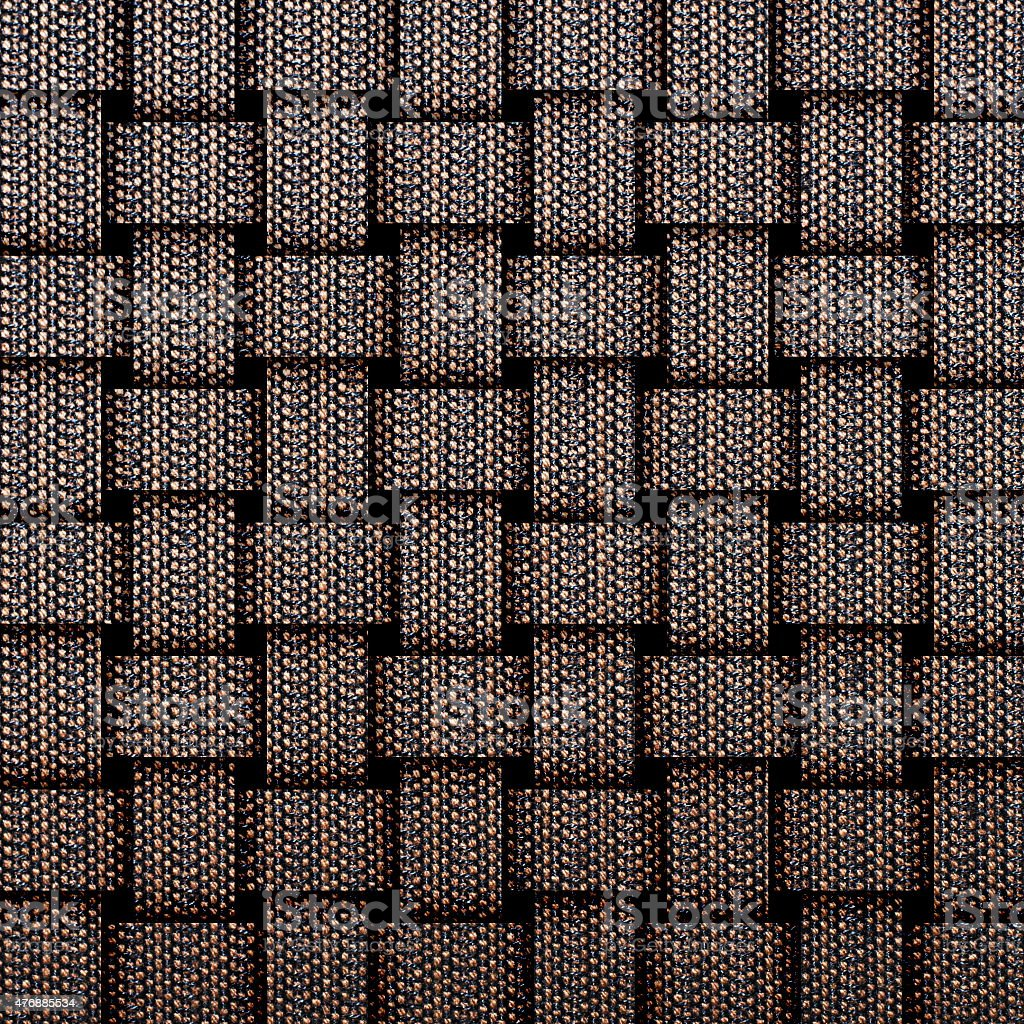 Woven silk for pattern and background stock photo