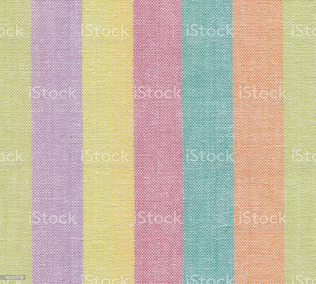woven striped fabric royalty-free stock photo