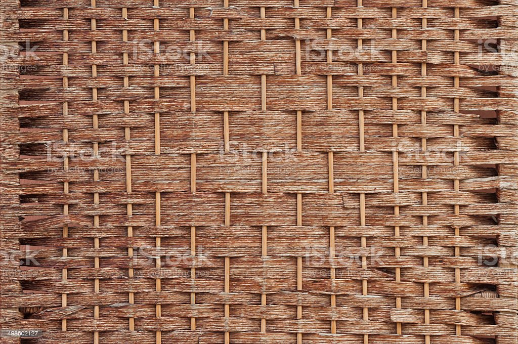 Woven Texture stock photo