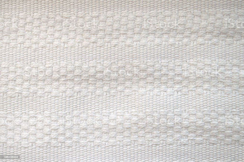 Woven White Cotton royalty-free stock photo