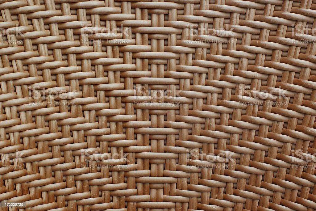 Woven wood royalty-free stock photo