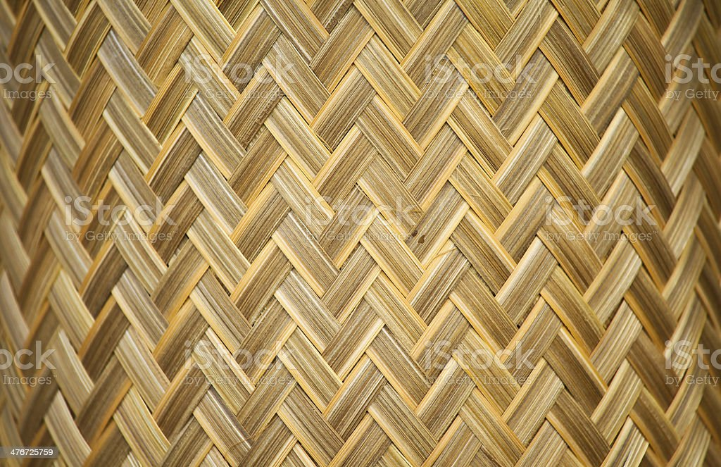 woven wooden texture royalty-free stock photo