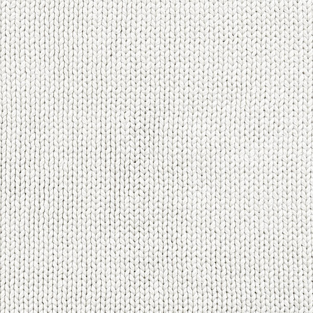 woven wool white fabric texture - wool stock photos and pictures