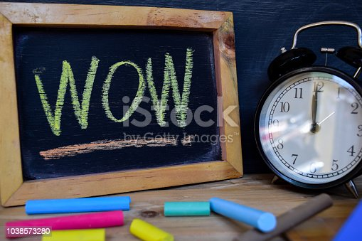 1045293630istockphoto Wow. Back to school concept. 1038573280
