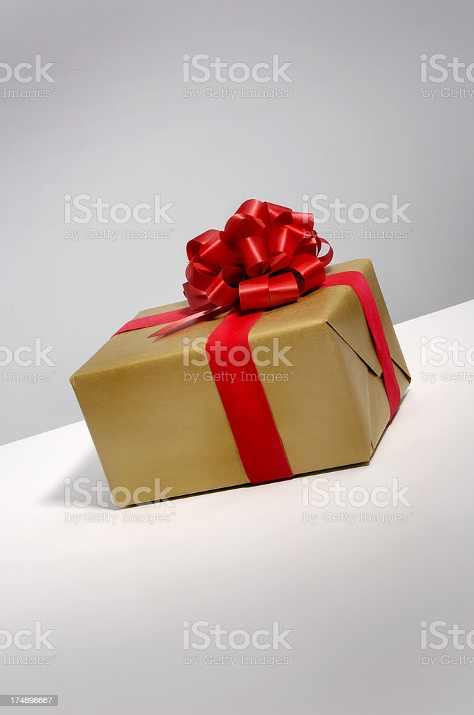 wrapped gift 038 royalty-free stock photo