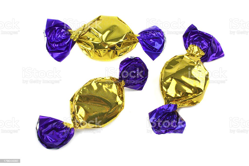 Wrapped Sweets stock photo