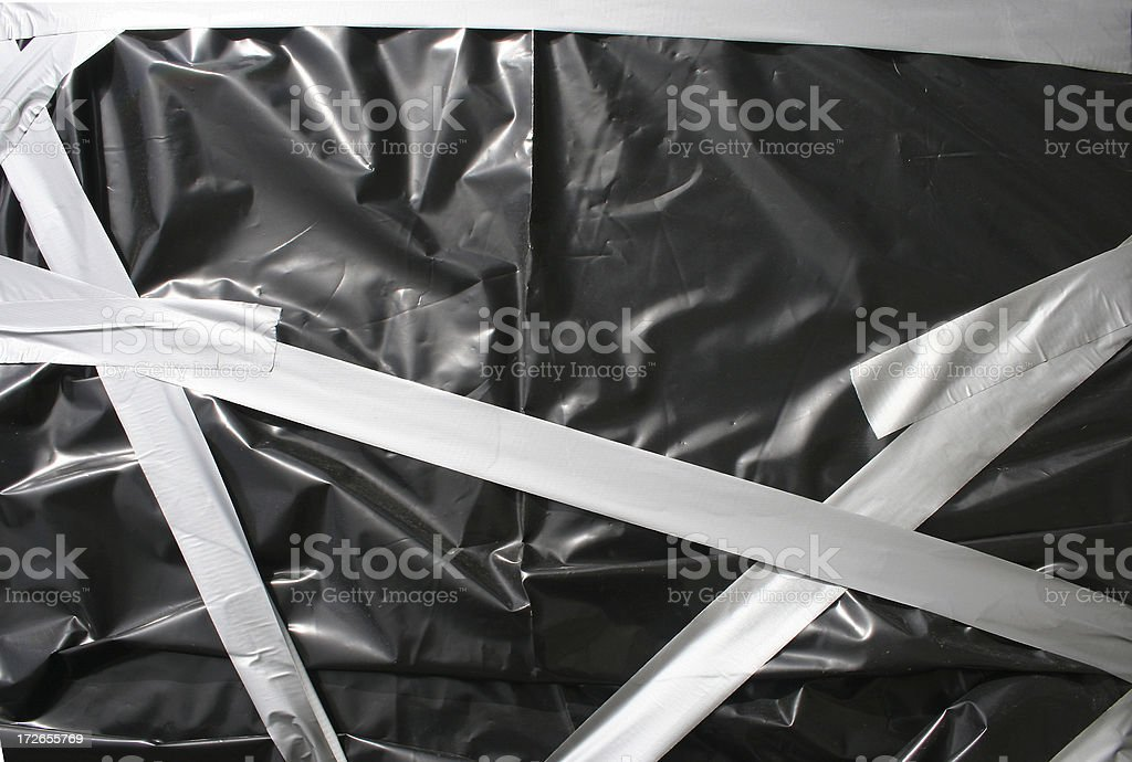 wrapped up royalty-free stock photo