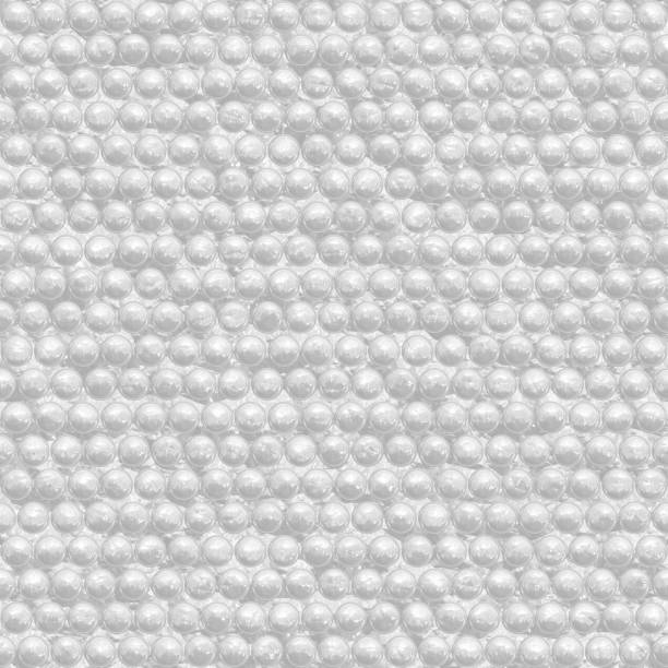 Wrapping paper, bubble wrap texture. Protection for objects in shipments stock photo