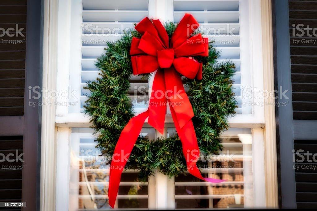 Wreath 3 stock photo