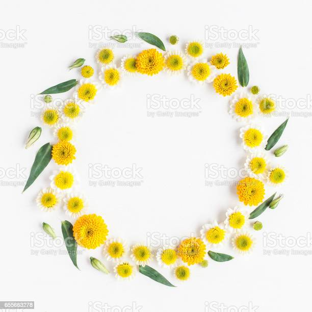 Wreath made of various yellow flowers on white background picture id655663278?b=1&k=6&m=655663278&s=612x612&h=y7tu0gk2jwgd q4wdh1oyntbfj7mtayg 7mtgrxj6im=