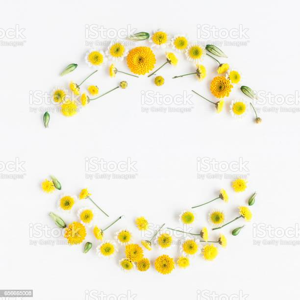 Wreath made of various yellow flowers on white background picture id656665008?b=1&k=6&m=656665008&s=612x612&h=tktctxs1iw7eph rcuvafc2pswg7outuhwpgnej0duu=