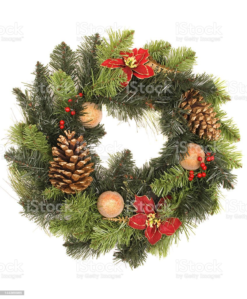 wreath royalty-free stock photo